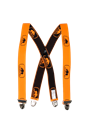 SIP Braces With Clips Hi Viz Orange/Black