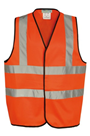 Orange Hi Viz Waist Coat