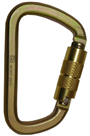 Steel Construction Karabiner With Twist Locking Mechanism GFAZ017T