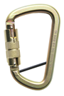 Steel Construction Karabiner With Twist Locking Mechanism & Locking Pin GFAZ017T-LP