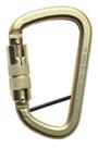 Steel Construction Karabiner With Twist Locking Mechanism & Locking Pin GFAZ017T-LP