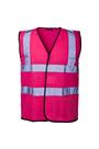 Pink Hi Viz Waist Coat
