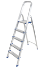 Aluminium Foldable Step Ladder 5 tread ALDD-AY-JY005
