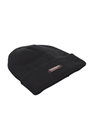 Black THINSULATE Lined Woolly Hat