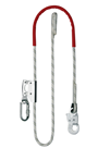 Adjustable Rope Grab Work Positioning Lanyard