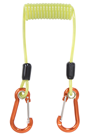 Compact Coiled Tool Lanyard by Tool Safe