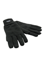 Black THINSULATE Lined Woolly Gloves