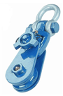 4Tonne Snatch Pulley Block For 10-12mm Wire Rope ( Shackle Attachment ) SBLS4/4.5
