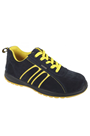 Steel toecap Hudson Black Rock Safety Trainers
