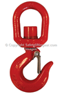 LiftinGear Swivel Hook For Winch and Pulling Equipment