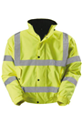Hi-Viz Yellow Bomber Jacket, Available in M, L, or XL