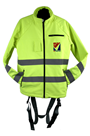 Jacket Safety Harness, Wind Breaker, Water Proof