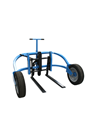 Heavy Duty Rough Terrain/ Field/ Mud/ Forrest Pallet Truck Trolley PTAT1.5