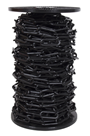 10mm BLACK Plastic Link Chain x 20mtr Reel