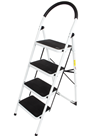 Steel Foldable 4 step Ladder Non-slip Tread