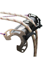 30cm Stainless Steel Rope Protector by Lyon Equipment