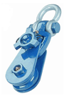"""8Tonne Snatch Pulley Block For 20-22mm 6"""" Diameter Sheave Wire Rope (Shackle Attachment) SBLS8/8"""