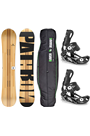 Pathron Slash Snowboard & Bindings Set