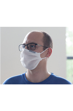 White Sporting Re-Usable Breathable Face Covering