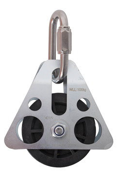 Single Rope lightweight Pulley Block Control System