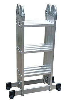 3.58mtr Aluminium Multipurpose Ladder 4 x 3 rungs