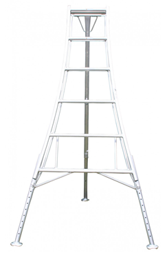 3 leg Adjustable Telescopic Tripod Ladder 2.4m HPM240