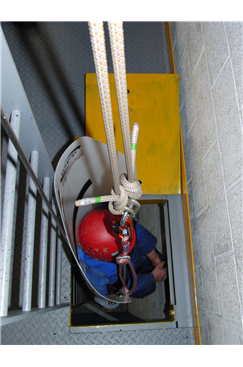 Restricted Access Confined Space Rescue Stretcher by Lyon