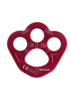 Aluminium Rigging Plate 19mm Hole - Small TF-CD401