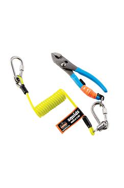 Ergodyne Compact Swivel Coiled Tool Lanyard 2lbs