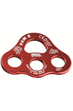 Petzl PAW Aluminium Rigging Plate - Small PETZL-P63S