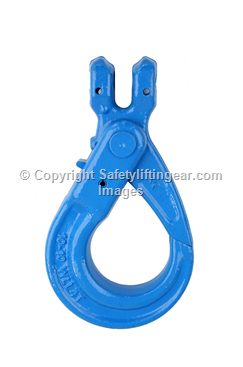 Grade 100 Lifting Clevis Hook (Self Lock) To Suit 6,8,10 & 13mm G100 Chain CSH-G10