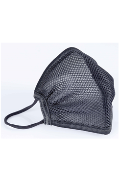 Black Sporting Re-Usable Breathable Face Covering