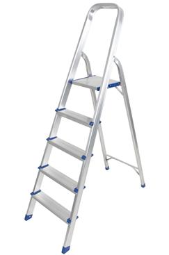 Aluminium Foldable Step Ladder 5 tread ALDD-AY-JY005