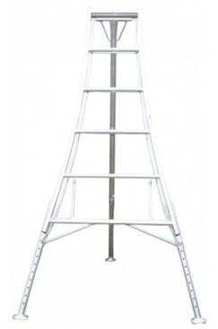 3 leg Adjustable Telescopic Tripod Ladder 3m HPM300