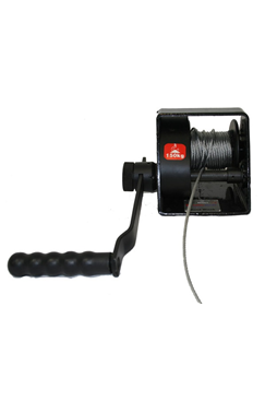 Manual Lifting/ Hoisting Hand Winch - Type A, WLL 1000kg - Automatic Brake System & Rope Options Available WINCH-1000-A