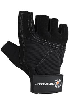 LifeGear High Performace Half Finger Impact Gloves