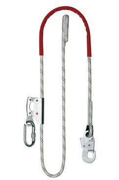 Adjustable Rope Grab Work Positioning Lanyard
