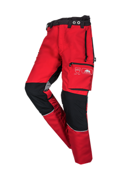 Innovation II Type C Chainsaw Trousers Red/Black