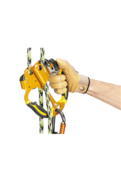Ascentree Double Handled Arborist Rope Clamp - PETZL
