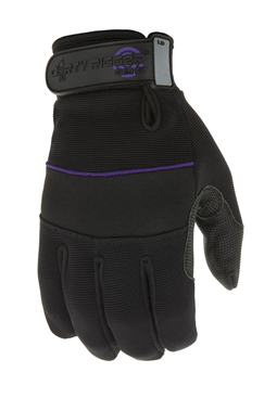 Ladies Full Finger Slim Fit Gloves by Dirty Rigger