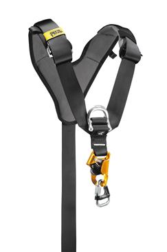 Petzl Top Croll Attachment - Ventral Rope Clamp PETZL-C81CAA