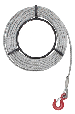 10m - 50m 1600 Kg Portable Winch Rope Pulling, Lifting, Lowering And Load Secure WR1600