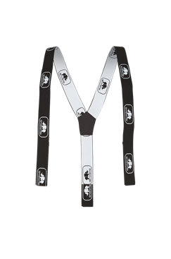 SIP Braces For Trousers With Loops Black/White