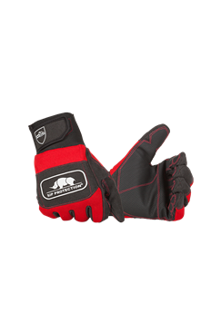 SIP 2XD3 Chainsaw Gloves Class 1 2 Hand Protection Red/Black