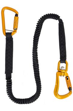 Tool Safe Bungee Swivel Type Lanyard – 15KG – Twist Lock Karabiners