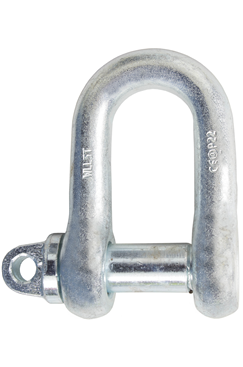 0.5 Tonne D Shackle LSDS0.5T