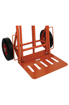 200kg Heavy Duty Steel Folding Sack Truck Trolley with Solid Wheels (Puncture Proof) ST-HT1827