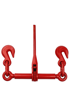 8000kg M.B.S Ratchet Loadbinder Set with Latch Hooks