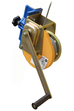Heavy Duty 250kg Manual Automatic Brake - Winch Length options 20mtr and 25mtr GFRUP502-T