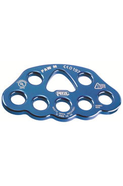 Petzl PAW Aluminium Rigging Plate 19mm Holes- Medium PETZL-P63M